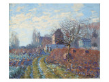 Gelee Blanche - Ete De La Saint-Martin, 1874 Giclee Print by Alfred Sisley