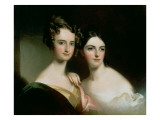 Portrait of Ellen and Mary Mcilvaine, 1834 Giclee Print by Thomas Sully