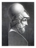 Bust of Pericles, Engraved by Giuseppe Cozzi Giclee Print by Giuseppe Longhi