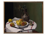 Apples and a Moroccan Vase, 1914 Giclee Print by Félix Vallotton
