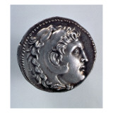 Tetradrachma Depicting Alexander the Great Giclee Print by Greek School