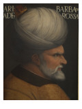 Portrait of Khair Ad-Din Barbarossa Giclee Print by Cristofano Dell&#39;altissimo