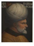 Portrait of Khair Ad-Din Barbarossa Giclee Print by Cristofano Dell'altissimo