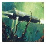 Twenty Thousand Leagues under the Sea Giclee Print by  English School