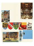 The Inns of Court: the Middle Temple Giclee Print by  Escott