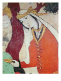 Woman from the Court of Shah Abbas I, 1585-1627 Giclee Print by Persian School