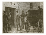 Arrival of Mr Parnell at Kilmainham Gaol Giclee Print by William Barnes Wollen