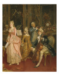 Concert at the Time of Mozart, 1853 Giclee Print by Ettore Simonetti