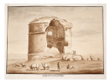 Temple of Fortune and Rest, 1833 Giclee Print by Agostino Tofanelli