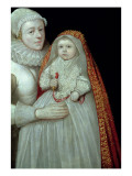Christening, Portrait of a Mother and Child, C.1595 Giclee Print by English School