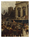 Whitehall, 30th January 1649, 1890 Giclee Print by Ernest Crofts