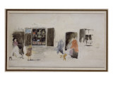 A Brittany Shop with Shuttered Windows Giclee Print by James Abbott McNeill Whistler
