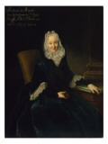 Madame Marte De Rocoulle, C.1735 Giclee Print by  Pesne