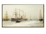 The Diamond Jubilee Review of 1897 Giclee Print by William Lionel Wyllie