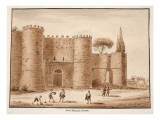 The Porta Pinciana, Closed, 1833 Giclee Print by Agostino Tofanelli