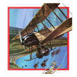 The Wooden Warrior, or Avro 504 Giclee Print by  English School