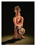 Figure of a Warrior with a Shield Giclee Print by  Mayan