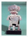 Statuette of a Woman Giving Birth Giclee Print by  Pre-Columbian