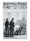 The Impeachment of President Andrew Johnson Giclee Print by  American School