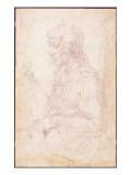 W.40 Sketch of a Female Figure Giclee Print by  Michelangelo Buonarroti