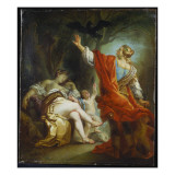 Apollo Slaying Coronis, 1759 Giclee Print by Johann Zoffany