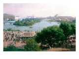 World's Columbian Exposition, Chicago, 1893 Giclee Print by Franz Biberstein