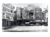 Place Saint-Andre-Des-Arts, Paris, 1858-78 Giclee Print by Charles Marville