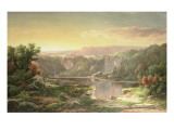 Mountain Lake Near Piedmont, Maryland Giclee Print by William Louis Sonntag