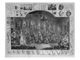 Analysis of Beauty, Plate Ii, 1753 Giclee Print by William Hogarth