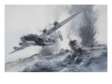 The Sinking of the Laconia in 1942 Giclee Print by Graham Coton