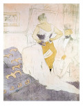Woman in a Corset from 'Elles', 1896 Reproduction procédé giclée par Henri de Toulouse-Lautrec