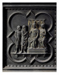 St John the Baptist Reprimands King Herod Giclee Print by Andrea Pisano