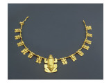 Quimbaya Necklace with Frogs, from Colombia Giclee Print by  Pre-Columbian