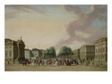 Unter Den Linden, Berlin, 1770 Giclee Print by Karl Friedrich Fechhelm