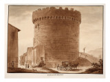 The Tomb of the Horatii and Curiatii, 1833 Premium Giclee Print by Agostino Tofanelli