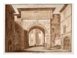 The Porta Angelica - Cassia, 1833 Giclee Print by Agostino Tofanelli