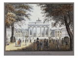 The Brandenburg Gate, Berlin Giclee Print by F.A. Calau