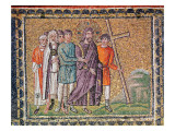 The Road to Calvary, Scenes from the Life of Christ Premium Giclee Print by  Byzantine School