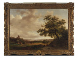 View on the Meuse, Holland, 1859 Giclee Print by Frederik Marianus Kruseman