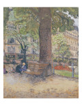 The Square at Vintimille, C.1925 Giclee Print by Edouard Vuillard