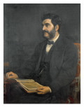 Portrait of Hormuzd Rassam, 1869 Giclee Print by Arthur Ackland Hunt