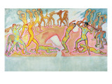 The Clash of the Titans, 1913-15 Reproduction procédé giclée par Koloman Moser