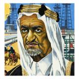 King Faisal of Saudi Arabia, 1974 Giclee Print by  English School