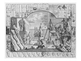 Analysis of Beauty, Plate 1, 1753 Giclee Print by William Hogarth