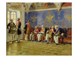 Waiting for an Audience, 1904 Giclee Print by Vladimir Egorovic Makovsky