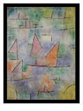 Harbour with Sailing Ships, 1937 Lámina giclée por Paul Klee