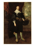 Portrait of William Style of Langley Giclee Print by Gortzius Geldorp