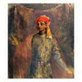 Portrait of Mikhail Kuzmin, 1911-12 Giclee Print by Nikolai Sapunov