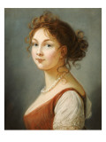 Portrait of Louisa, Queen of Prussia Giclee Print by  Vigee-Lebrun