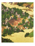 Heiji Uprising of 1159, Momoyama Period Reproduction procédé giclée par Japanese School